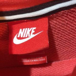 Nike Shirts & Tops - Nike hoodie tech m pink